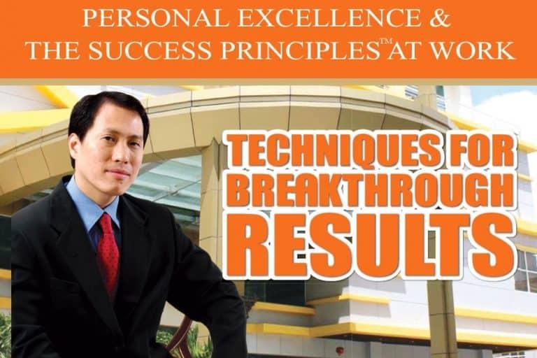 Phát triển năng lực cá nhân: Các nguyên tắc thành công cho doanh nghiệp (Personal Excellence & The Success Principles for Organizational Success)