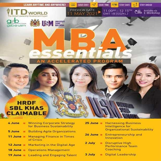 MBA Essentials preview