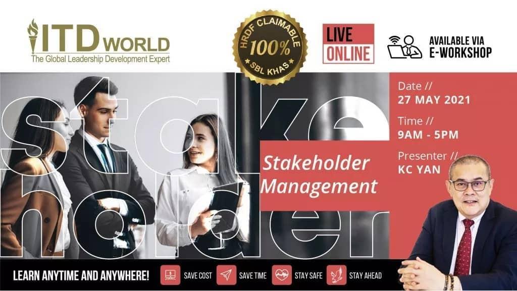 Stakeholder Management workshop - by KC Yan