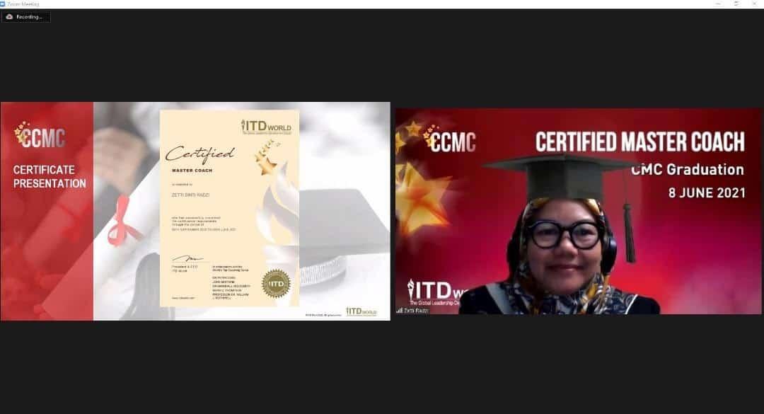 tốt nghiệp chương trình Certified Chief Master Coach - 08/06/2021