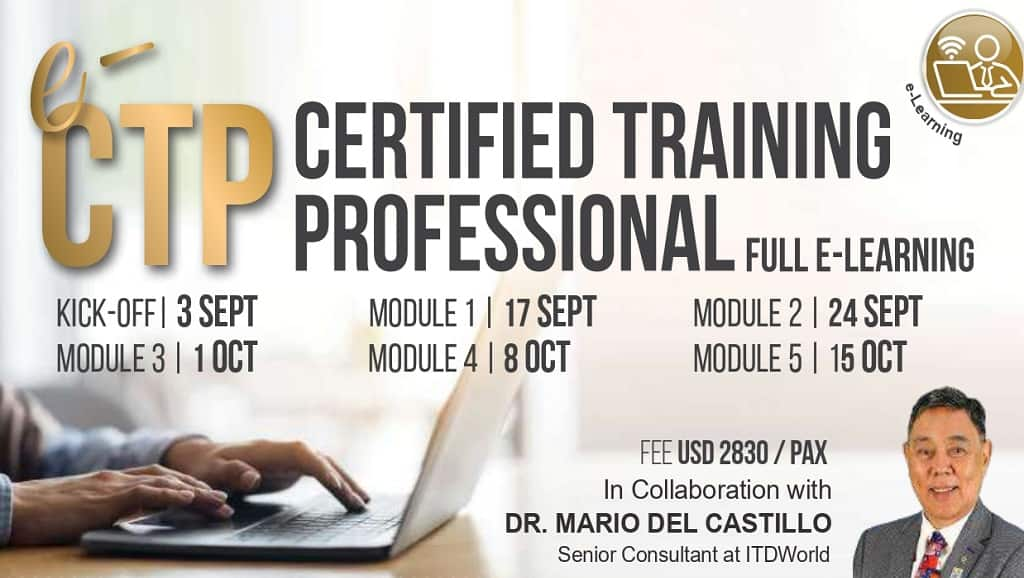 Certified Training Professional (CTP) (03-09-2021)