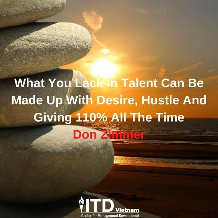 câu nói truyền cảm hứng - Don Zimmer