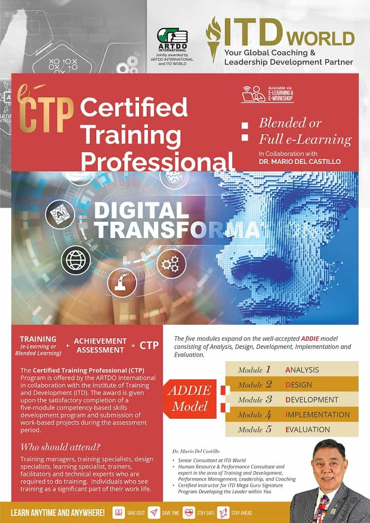 Certified Training Professional (CTP)